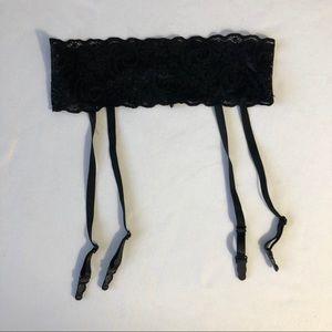 Intimates & Sleepwear - Lot of 2 fishnet stockings with garter belt